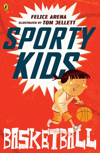 Book Cover:  Sporty Kids: Basketball