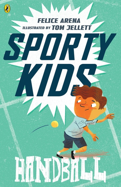 Book Cover:  Sporty Kids: Handball!