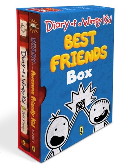 Diary of a Wimpy Kid Best Friends Box