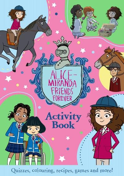Alice-Miranda Friends Forever Activity Book