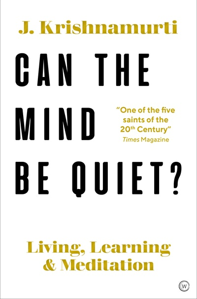 Can The Brain Be Quiet?