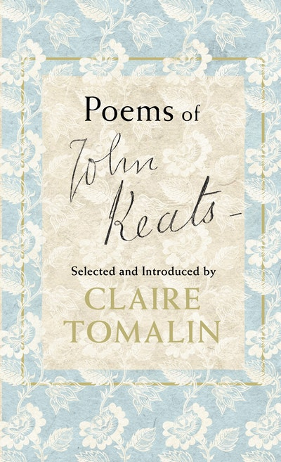 Book Cover:  Poems Of John Keats
