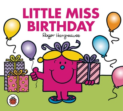Book Cover:  Mr Men and Little Miss: Little Miss Birthday