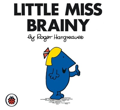 Book Cover:  Mr Men and Little Miss: Little Miss Brainy