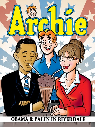 Archie Obama & Palin in Riverdale