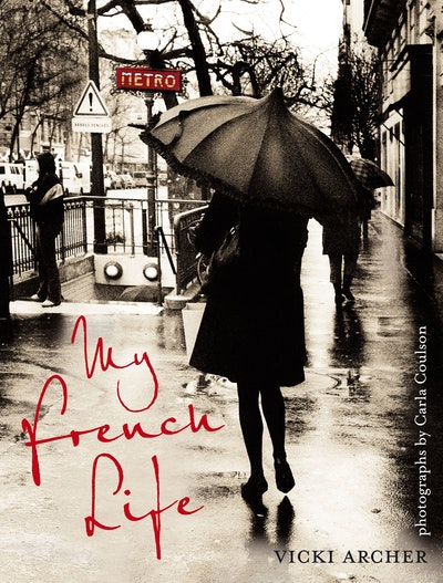 Book Cover:  My French Life