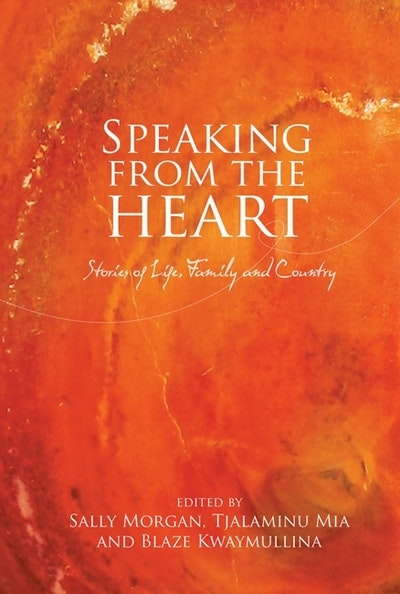 Book Cover:  Speaking From the Heart