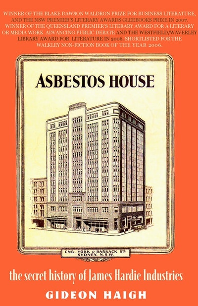 Book Cover:  Asbestos House