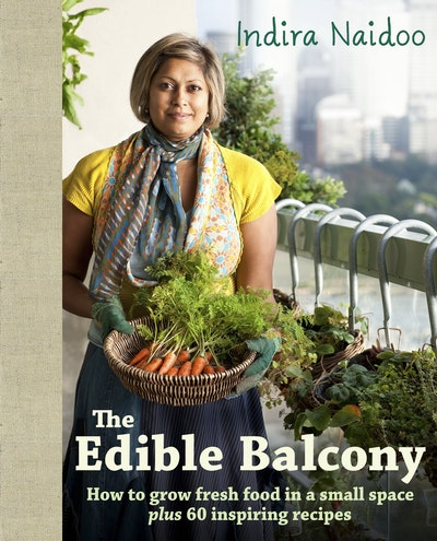 Book Cover: The Edible Balcony