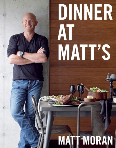 Book Cover:  Dinner at Matt's
