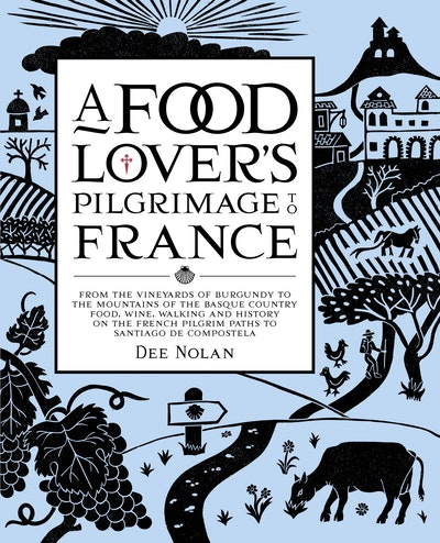 Book Cover: A Food Lover's Pilgrimage To France