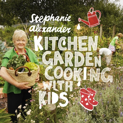 Book Cover:  Kitchen Garden Cooking with Kids, Second Edition