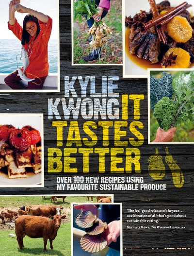 Book Cover:  It Tastes Better