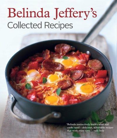 Book Cover:  Belinda Jeffery's Collected Recipes Revised Edition