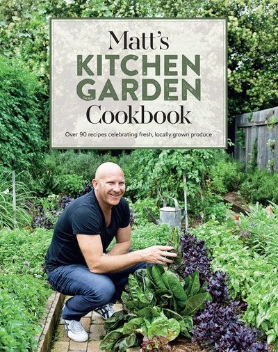 Book Cover:  Matt's Kitchen Garden Cookbook