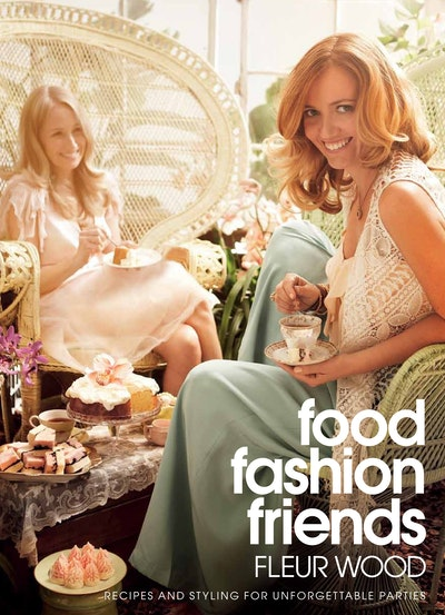 Book Cover:  Food, Fashion, Friends