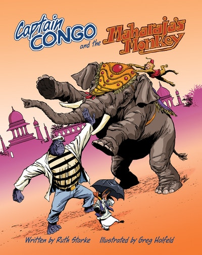 Book Cover:  Captain Congo And The Maharaja's Monkey