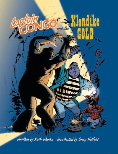 Book Cover:  Captain Congo And The Klondike Gold