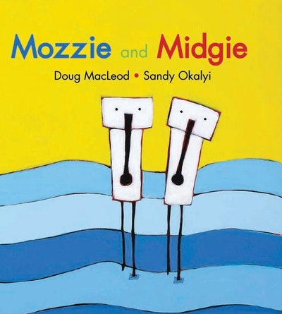 Book Cover:  Mozzie and Midgie
