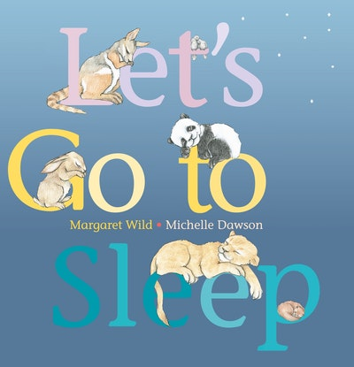 Book Cover:  Let's Go To Sleep