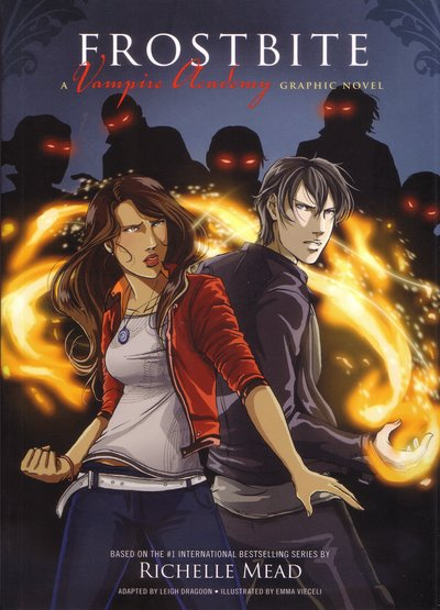 Book Cover:  Frostbite: Vampire Academy Graphic Novel Book 2