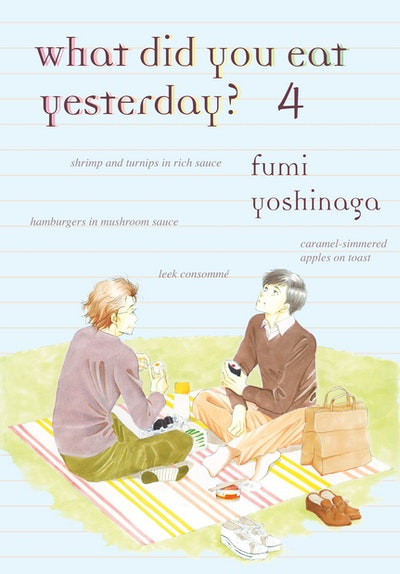 What Did You Eat Yesterday, Volume 4