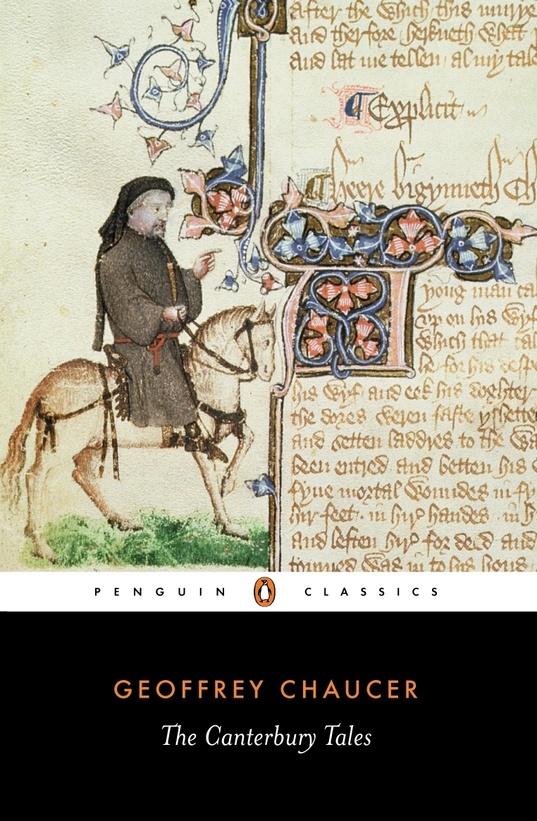 chaucer canterbury tales the Geoffrey chaucer: geoffrey chaucer, the outstanding english poet before shakespeare and the first finder of our language his the canterbury tales ranks as one of the greatest poetic works in english.
