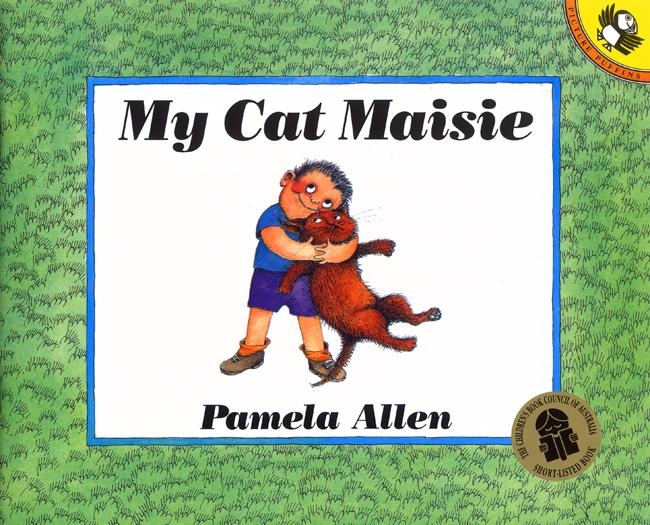 Book Cover:  My Cat Maisie