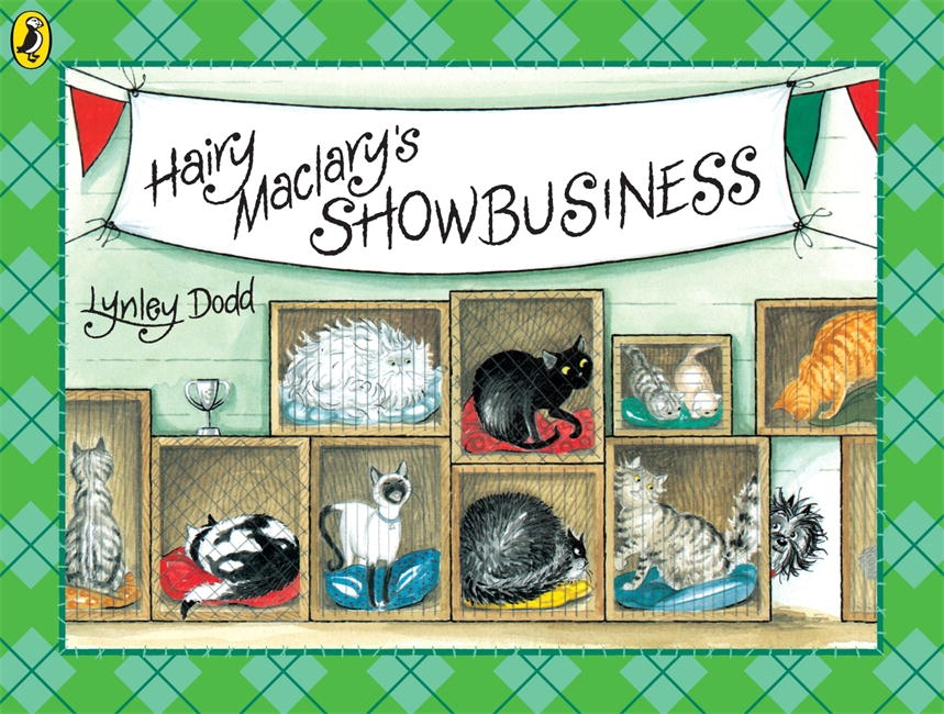 Book Cover:  Hairy Maclary's Showbusiness