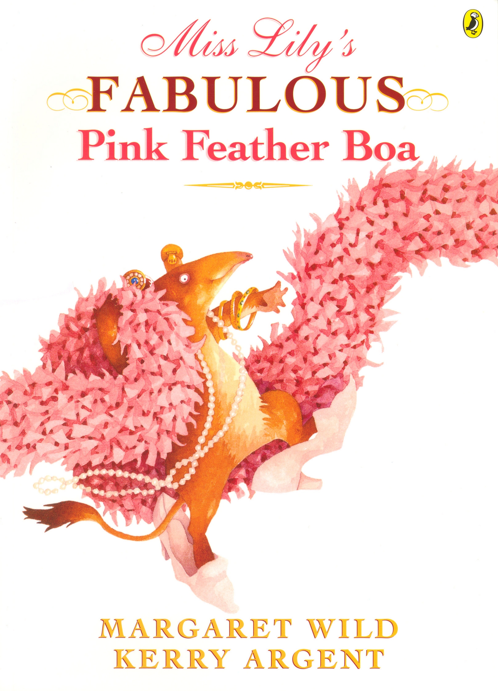 Book Cover:  Miss Lily's Fabulous Pink Feather Boa