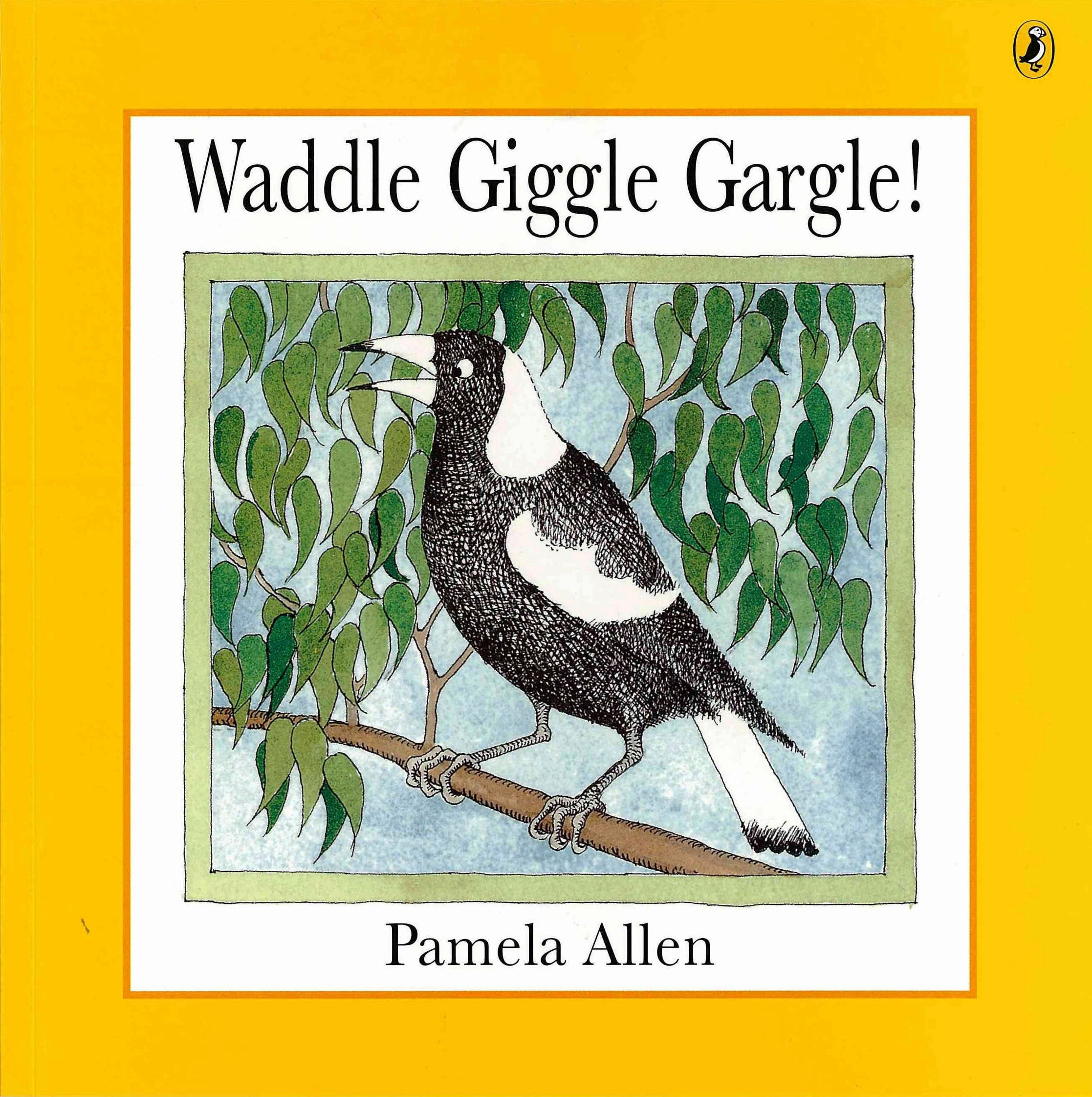 Book Cover:  Waddle Giggle Gargle!