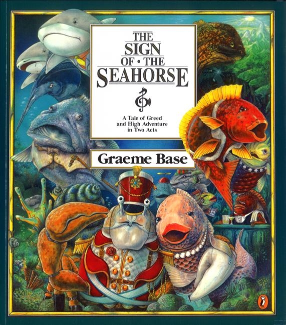 Book Cover: The Sign of the Seahorse