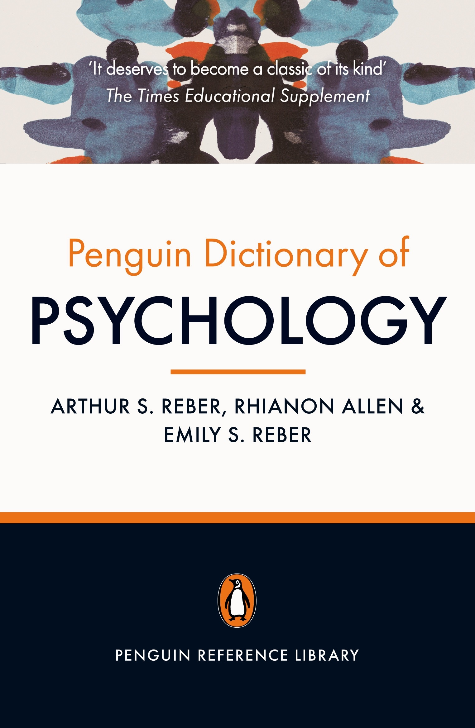 Book Cover:  Penguin Dictionary of Psychology: Penguin Reference Library
