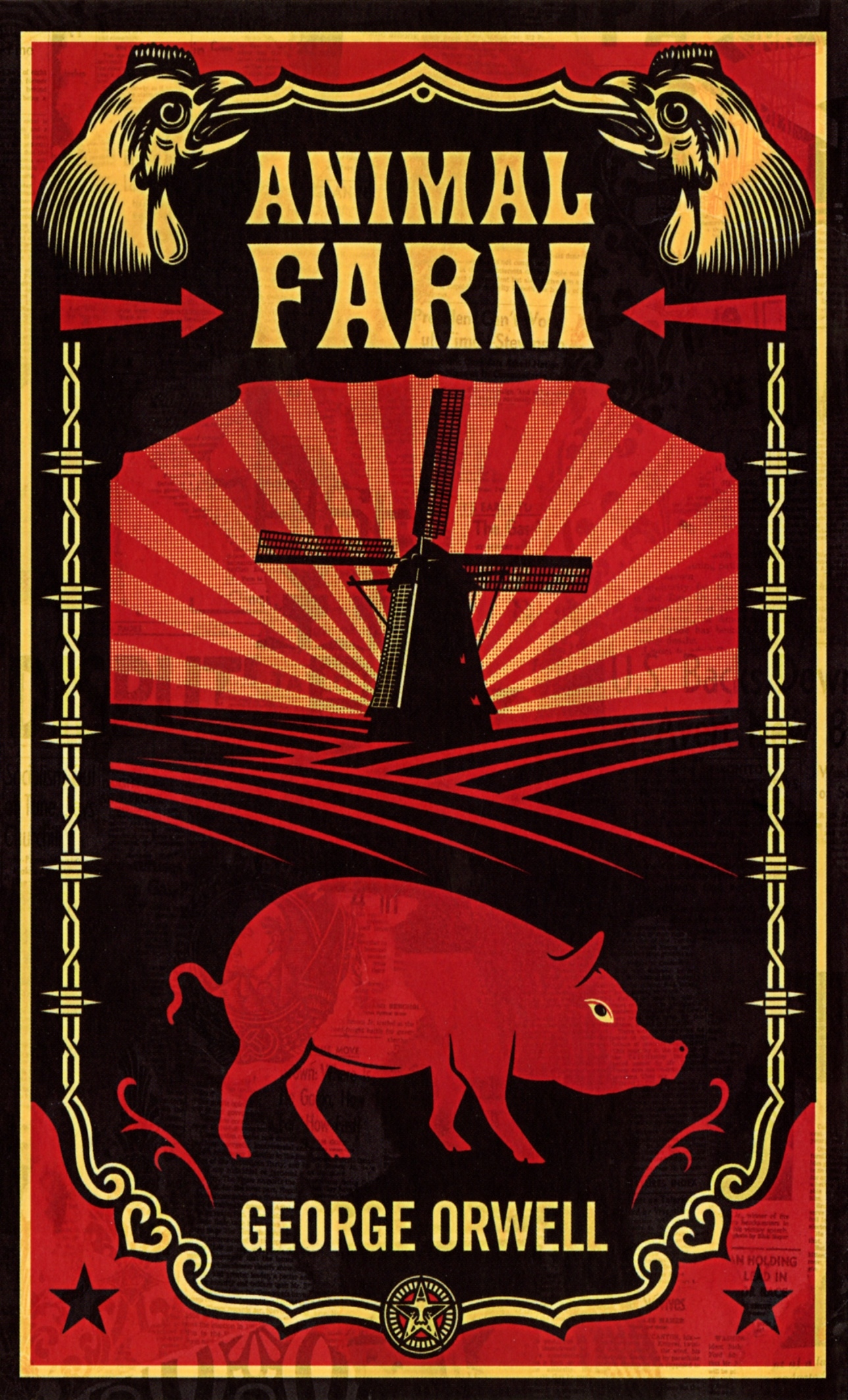 animal farm by george orwell is Learn about george orwell, british writer of such dystopian classics as 'animal farm' and 'nineteen eighty-four,' on biographycom.