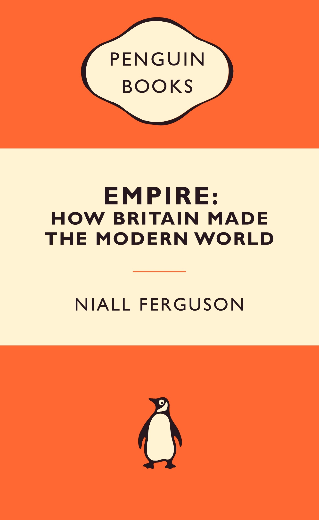 Penguin Book Cover Brief : Empire how britain made the modern world popular