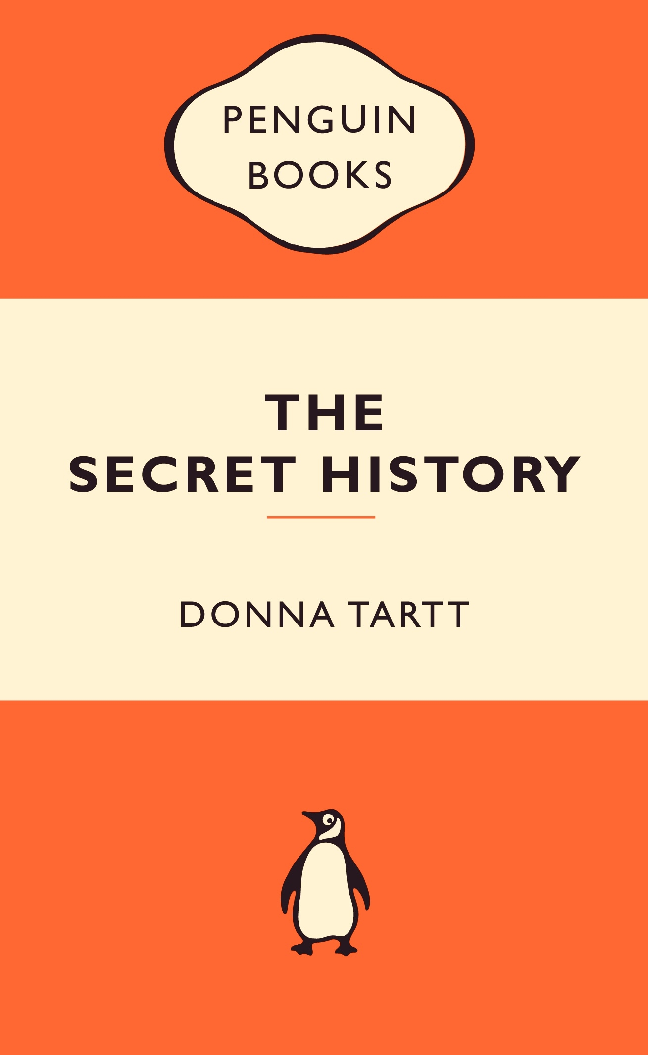 Book Cover: The Secret History: Popular Penguins