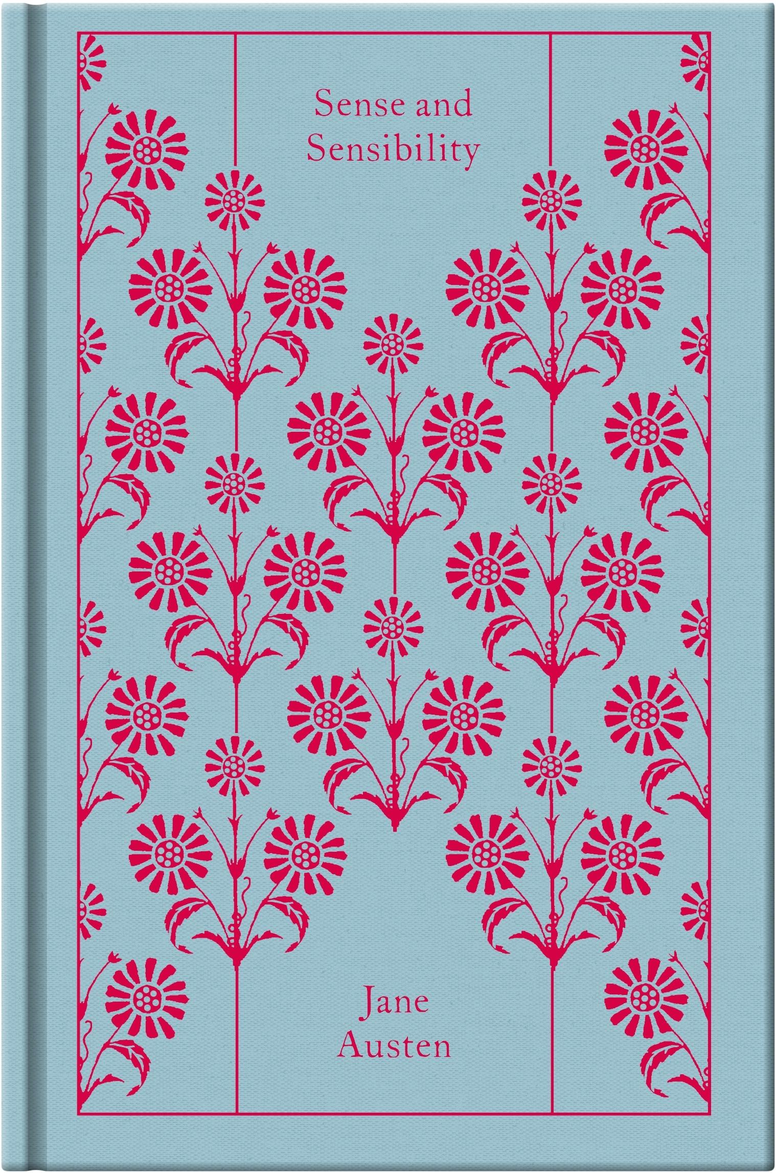 Jane Austen Pretty Book Covers : Sense and sensibility design by coralie bickford smith