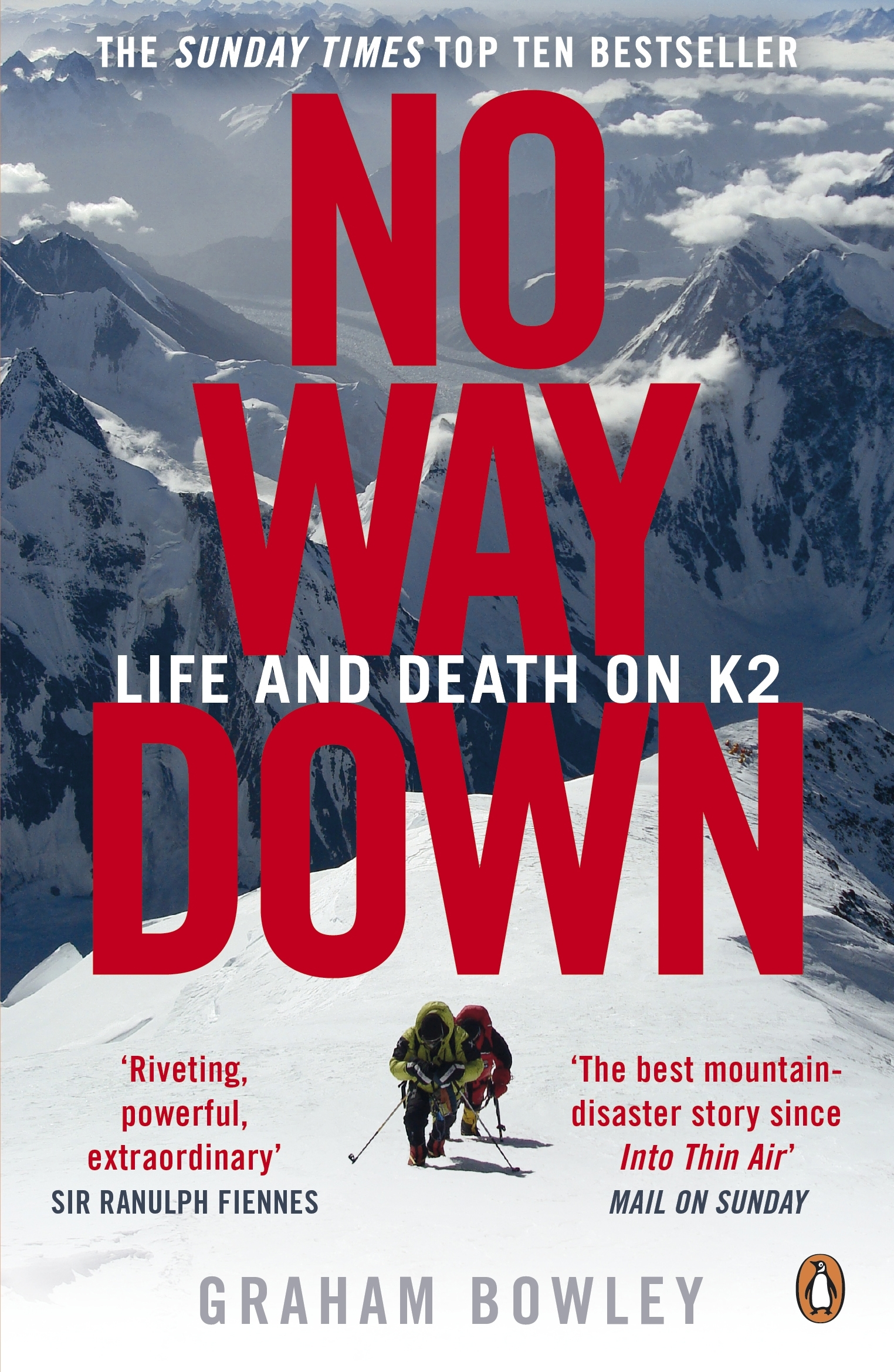 Book Cover:  No Way Down: Life And Death On K2