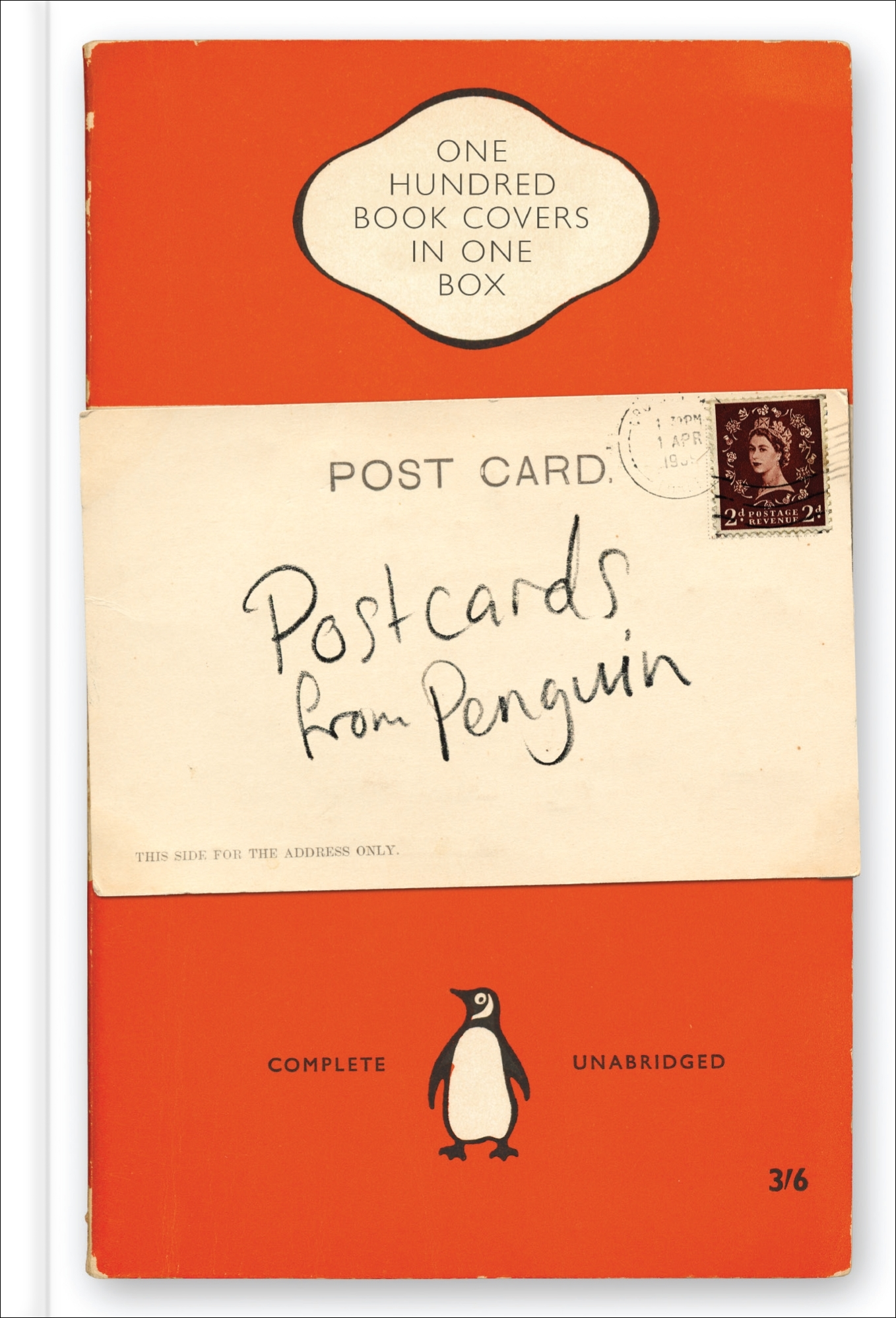 Classic Book Cover Postcards ~ Postcards from penguin book jackets in one