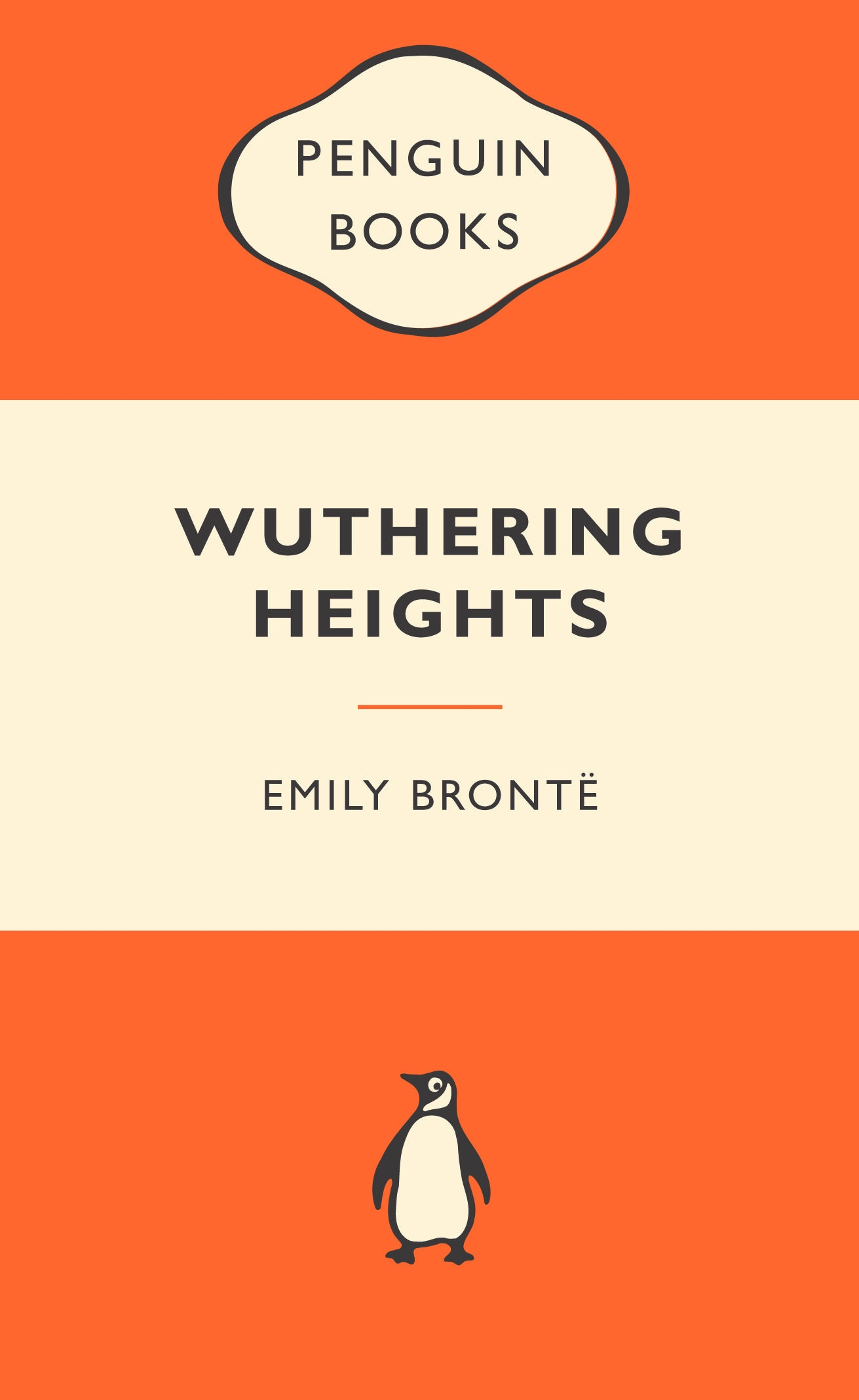 Book Cover:  Wuthering Heights: Popular Penguins