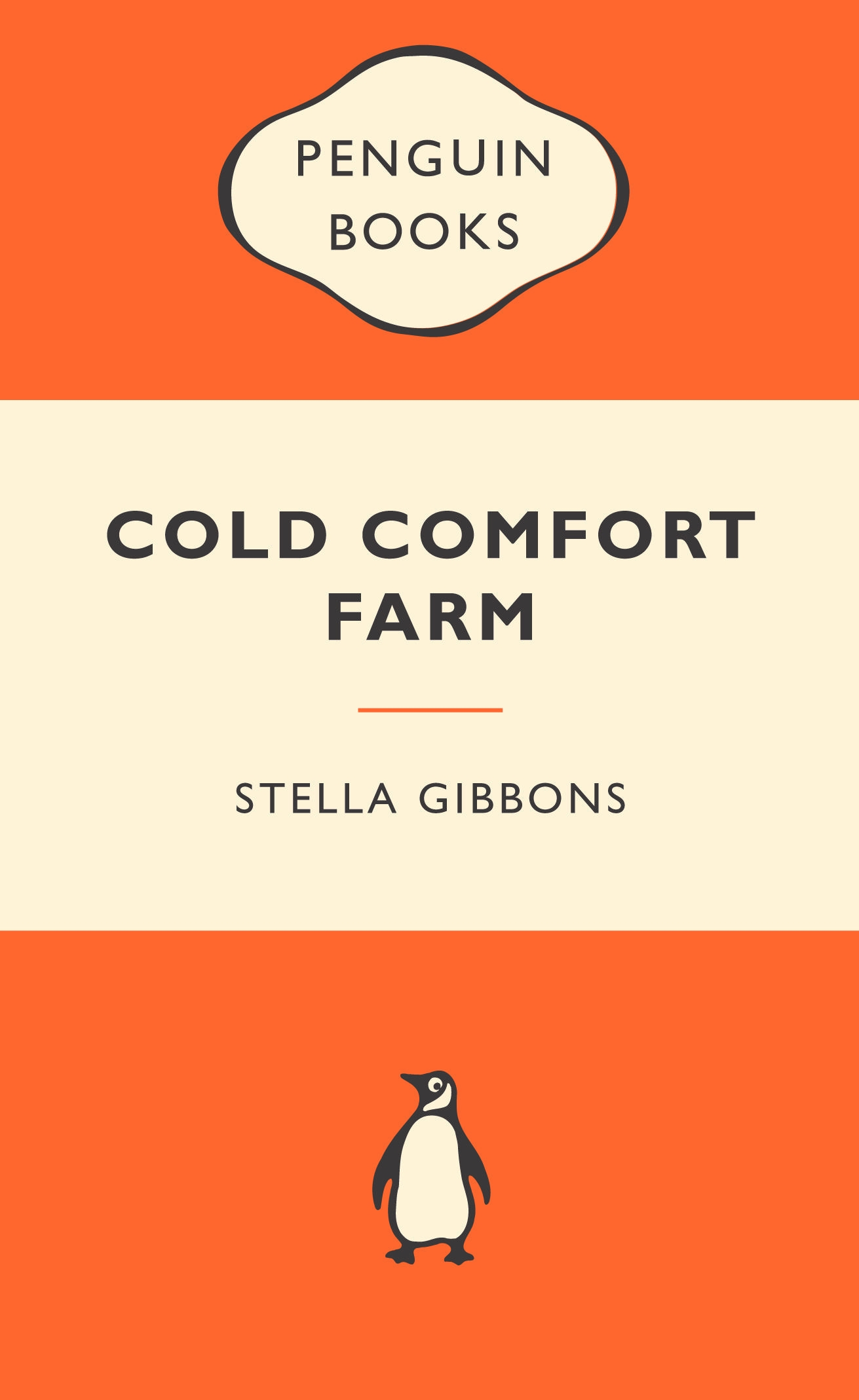 Book Cover:  Cold Comfort Farm: Popular Penguins