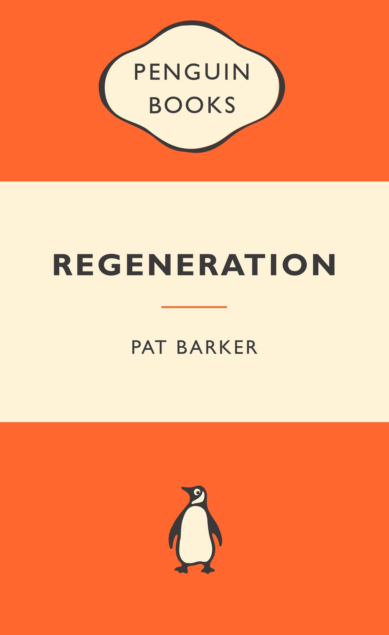 Penguin Book Cover Personalised ~ Regeneration popular penguins penguin books australia