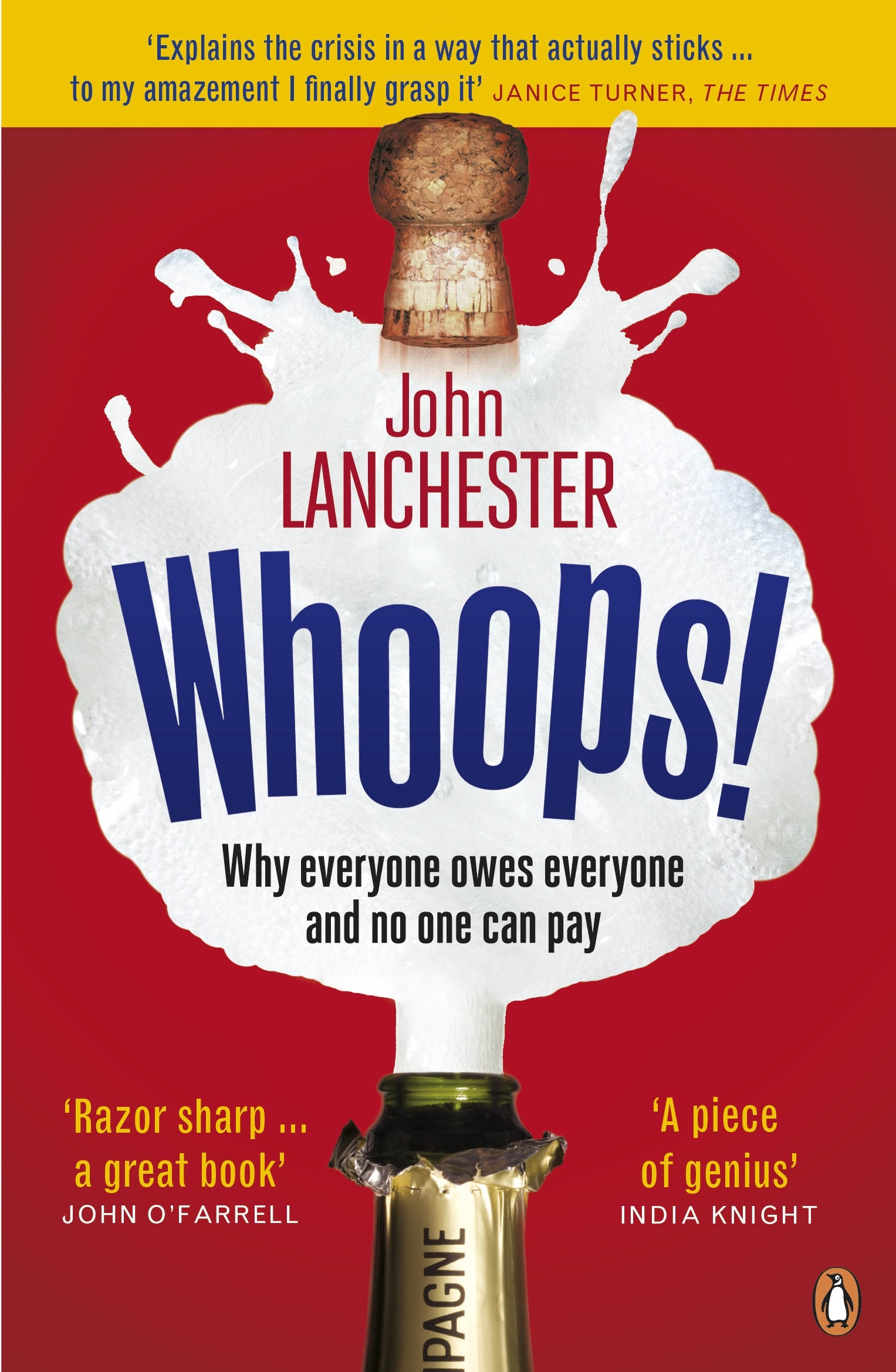 Book Cover:  Whoops!: Why everyone owes everyone and no one can pay