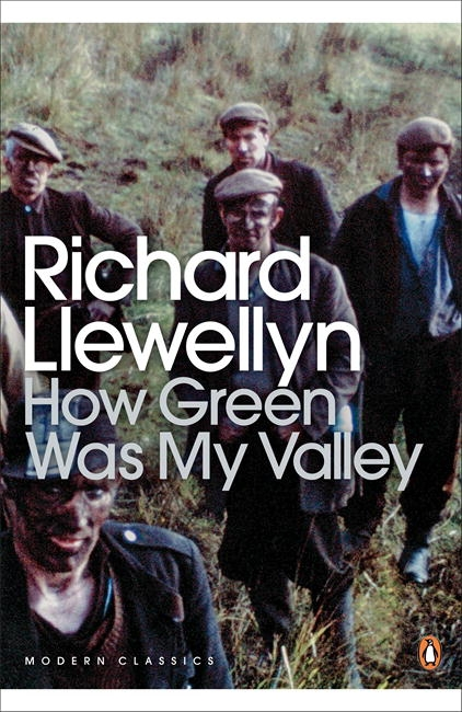 Book Cover:  How Green Was My Valley