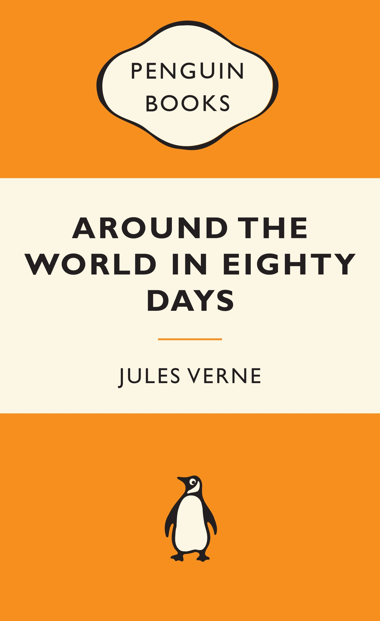 Penguin Book Cover Download ~ Around the world in eighty days popular penguins