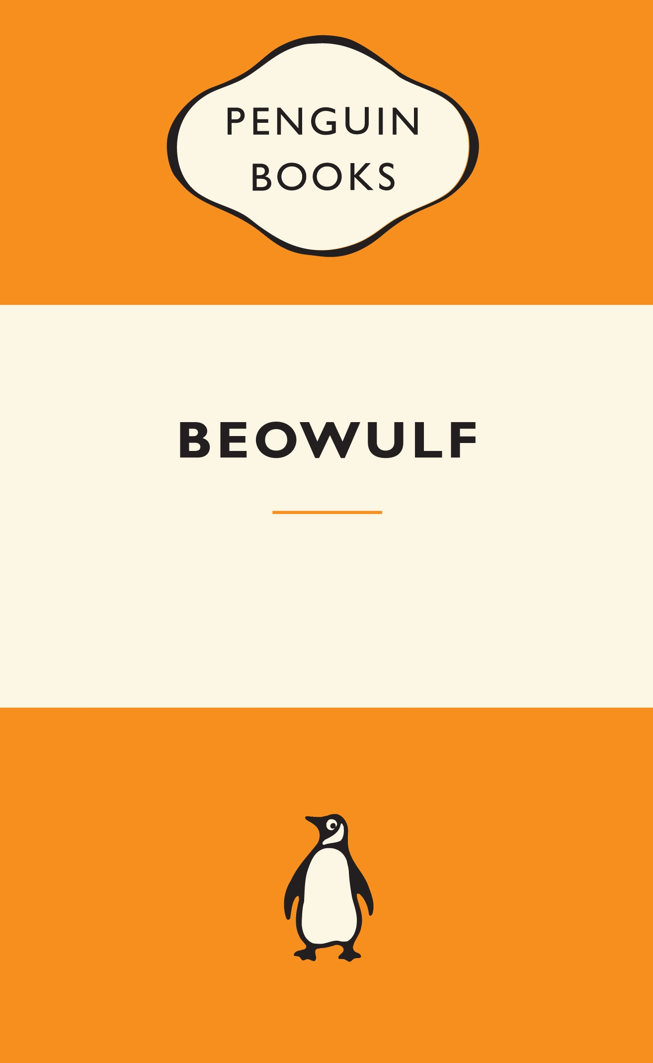 Book Cover:  Beowulf: Popular Penguins