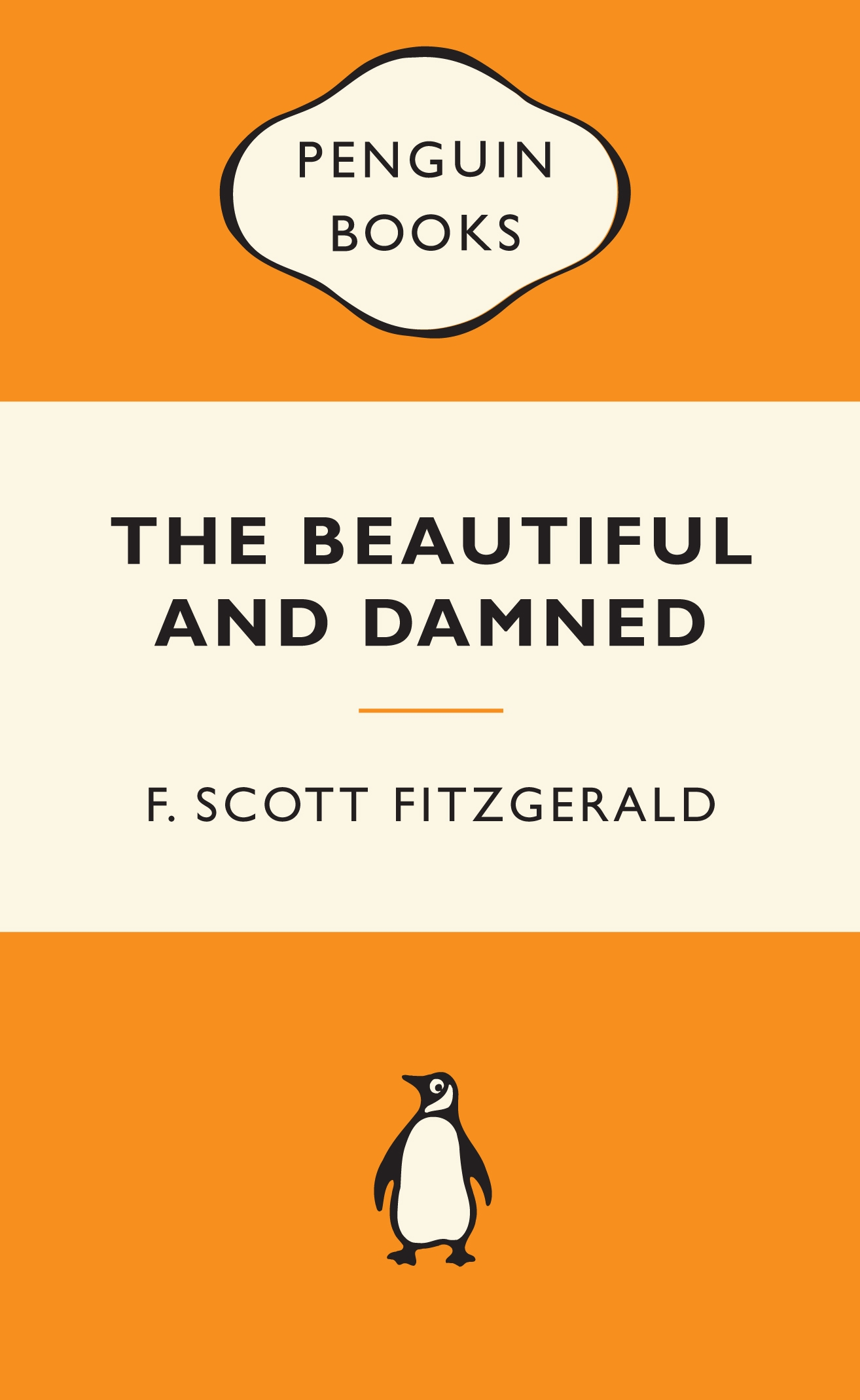 Book Cover: The Beautiful and Damned: Popular Penguins