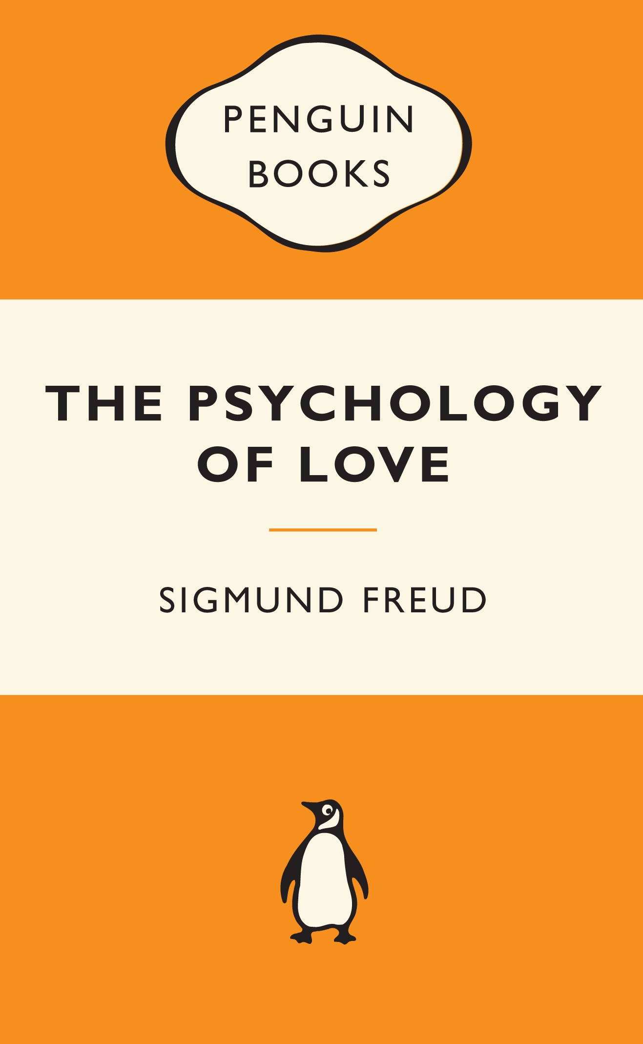 Book Cover: The Psychology of Love: Popular Penguins