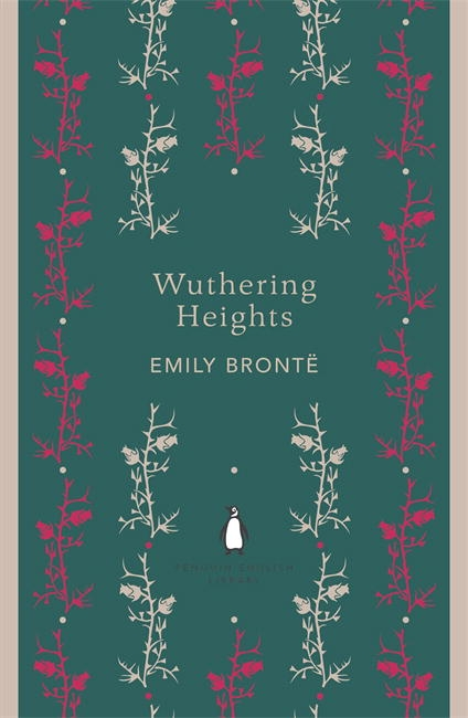 Modern Penguin Book Covers : Wuthering heights penguin english library books