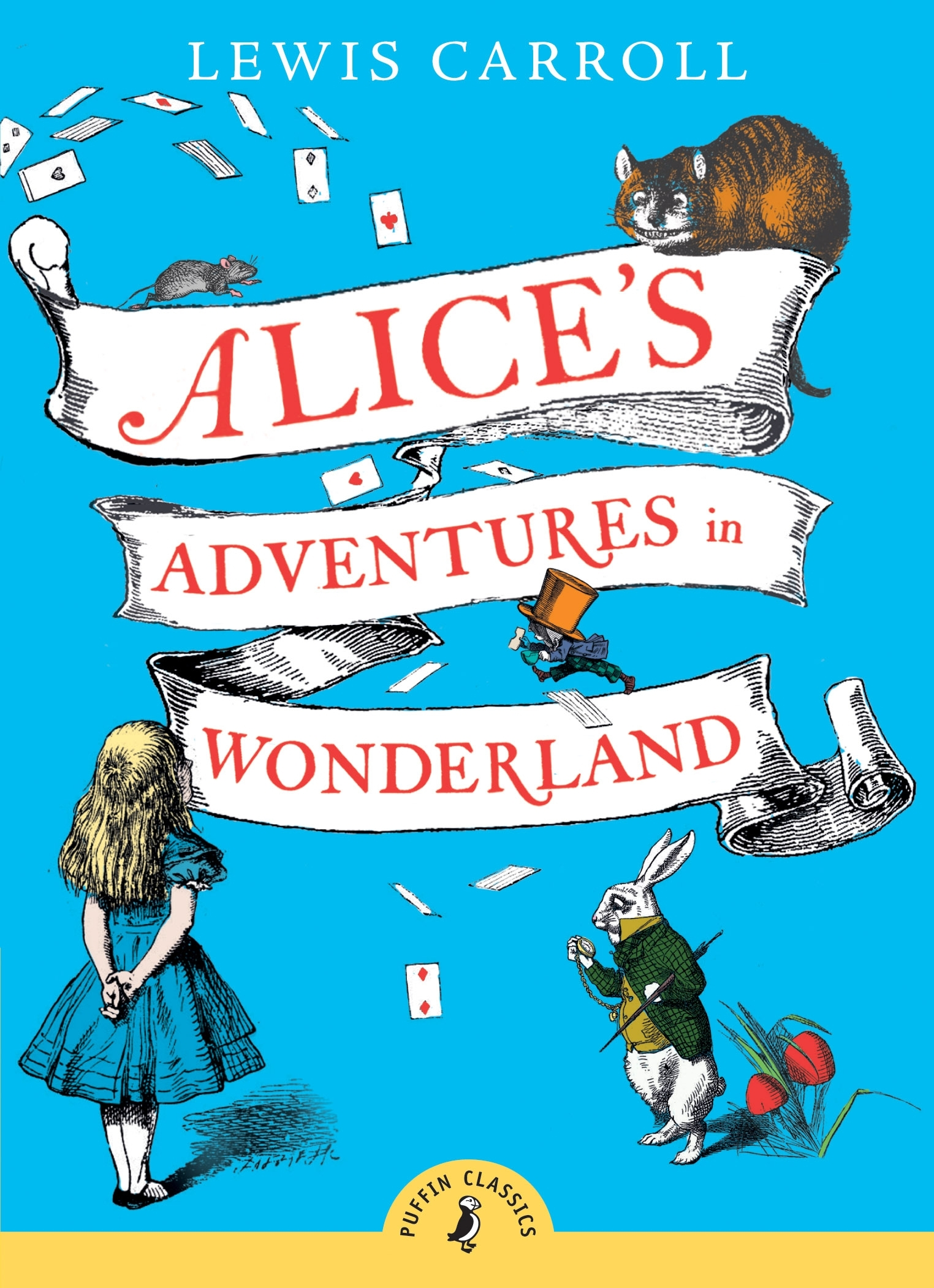 Alice In Wonderland Classic Book Cover ~ Alice s adventures in wonderland penguin books australia
